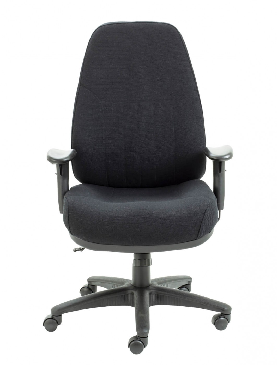 Cloth Covered Office Chairs Office Chairs Panther 24 Hour Fabric Office Chair