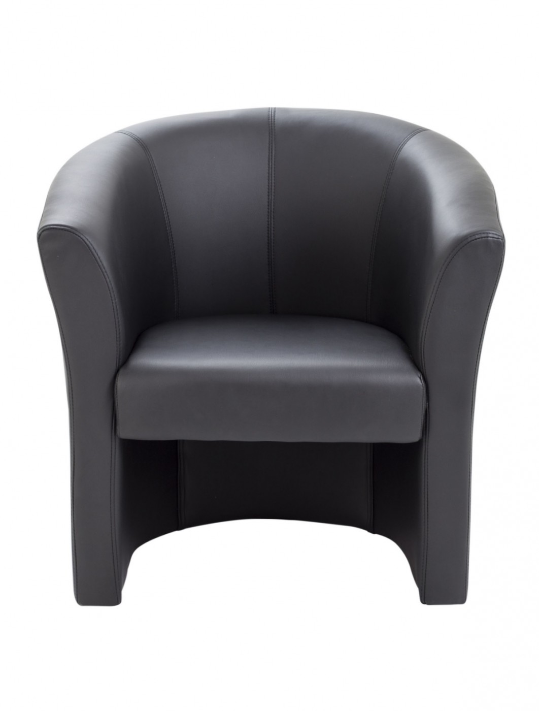 Tub Chairs Tub Chairs Tc Leather Look Reception Armchair Of0201