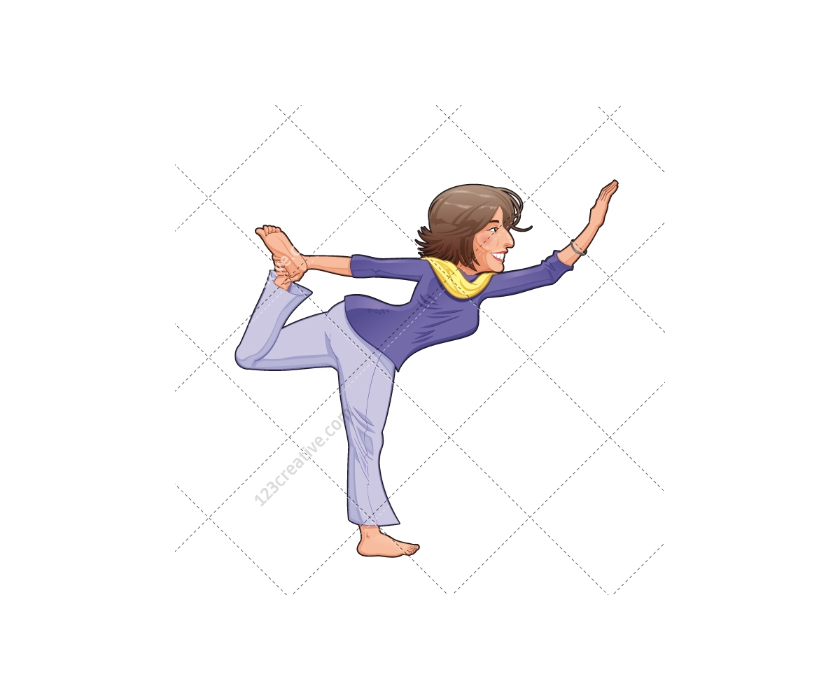 Adobe Stock Tax Download Yoga Vector Gilr Vector Woman Training Vector