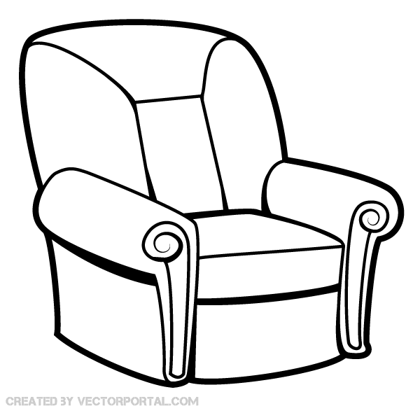 Sessel Wing Armchair Vector