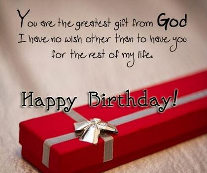Beautiful Love Quotes For Her Birthday : Birthday Quotes For Boyfriend Happy