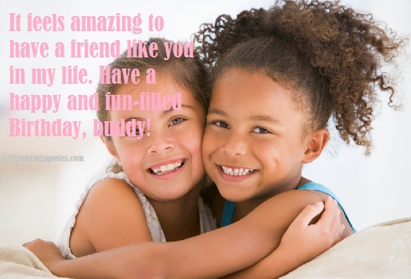 Emotional Birthday Quotes For A Friend : Birthday quotes for friends best emotional funny wishes
