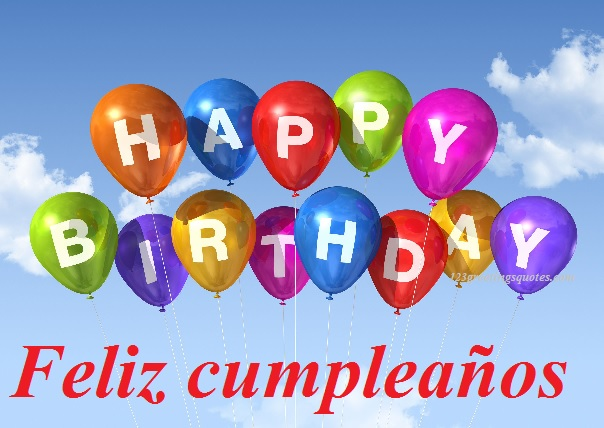 Happy Birthday Wishes To A Cousin In Spanish For