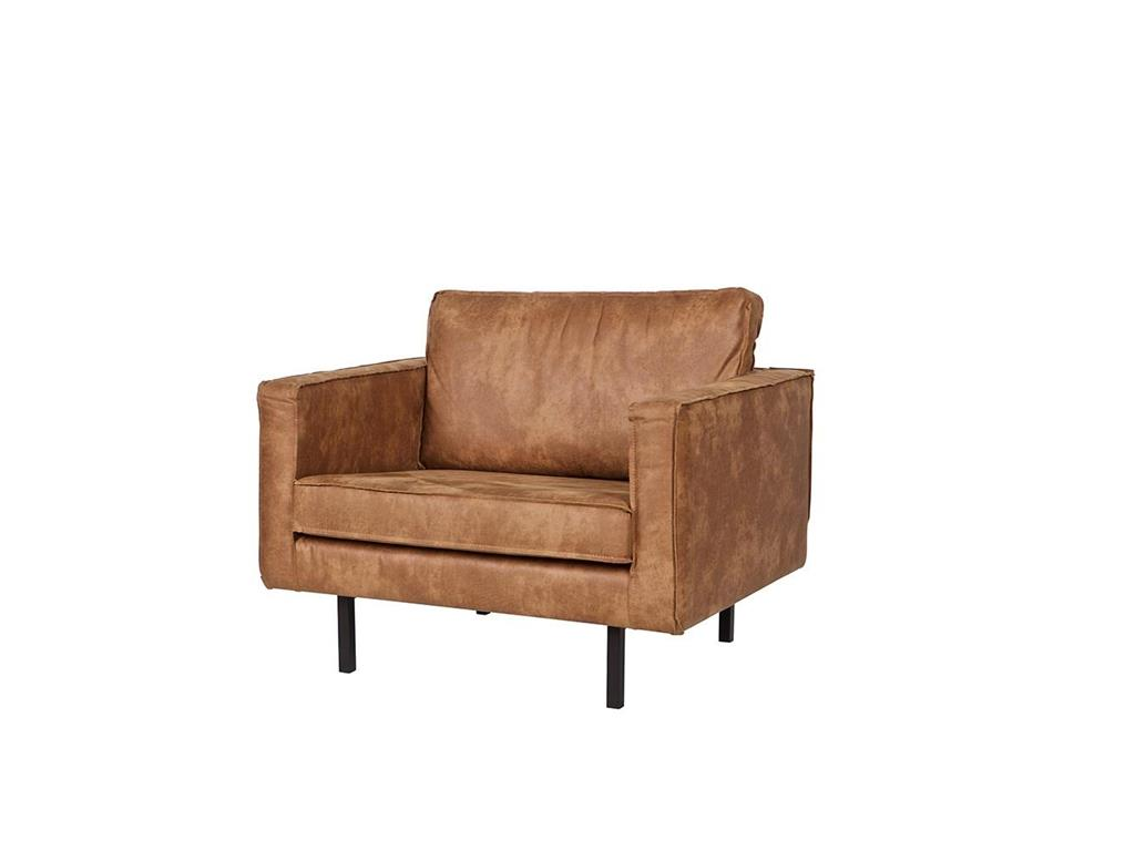 Sessel Cognac Bepurehome Rodeo Sessel Lederlook Cognac