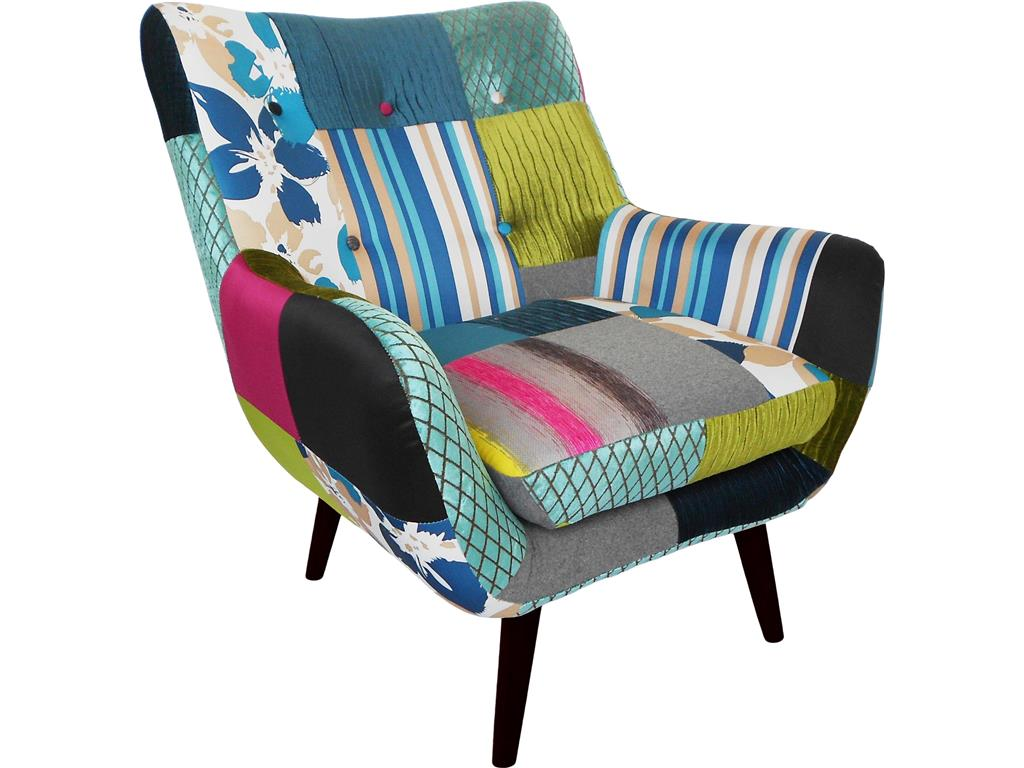 Patchwork Sessel Günstig Bhp Best Home Products Patchwork Sessel Gemustert