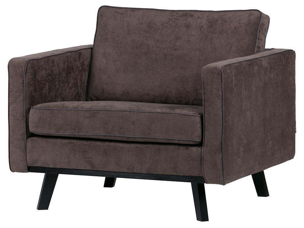Sessel Velour Bepurehome Rebel Retro Sessel Braun Velour Optik
