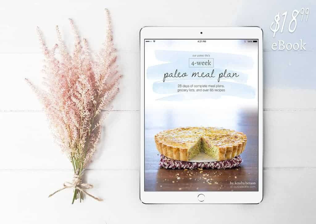 The Trusted 4 Week Paleo Meal Plan w/ Recipes, Grocery Lists  Tips