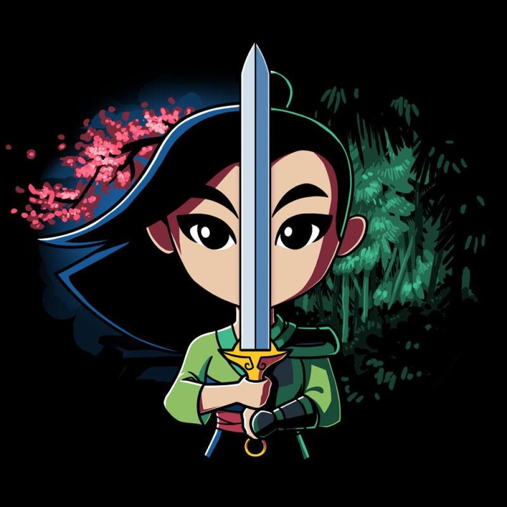 Funny Frog Wallpaper Quotes And Pictures Mulan Double Edged Sword T Shirt Official Disney Tee