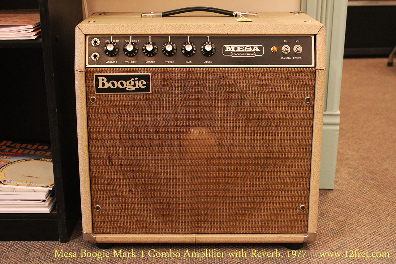 1 Mesa 1977 Mesa Boogie Mark 1 Combo Amplifier 12fret