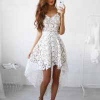 Bohemian White Lace Dress | Boho Style Dresses | Top Tier ...