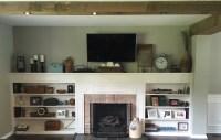 Living Room Built Ins: Plans & Progress | 12 Oaks