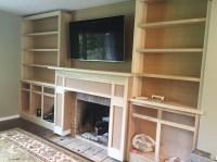 Big Reveal: Living Room Built Ins! | 12 Oaks