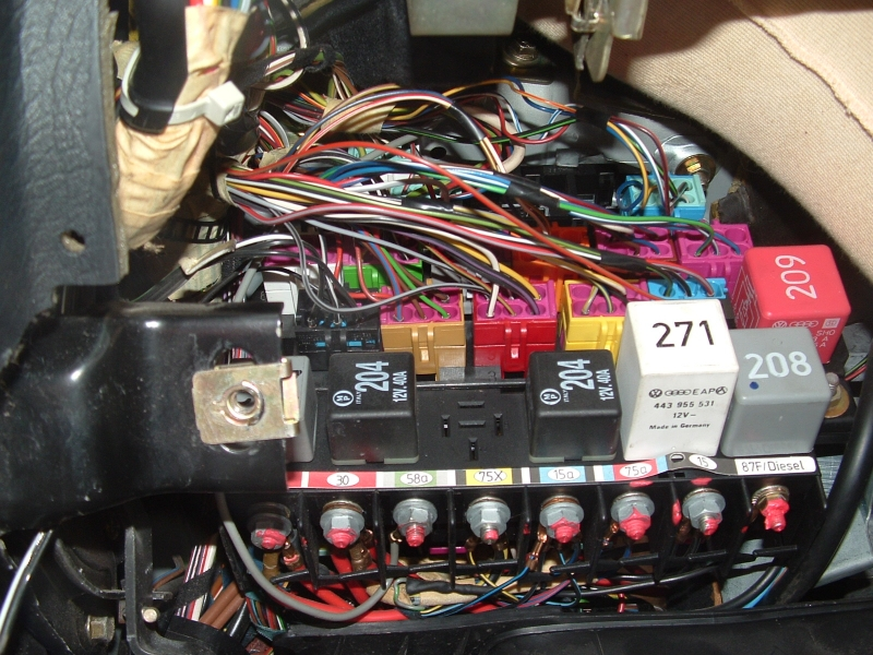 quattroworld Forums J17 Fuel Pump Relay Information and why it
