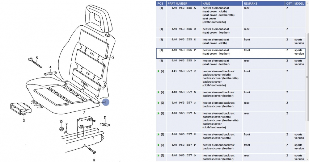 audi a4 heated seat wiring diagram