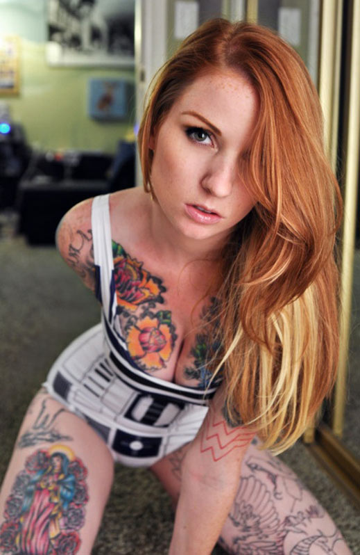 Wallpaper Emo Girl Style 10 Of The Hottest Tattooed Redheads You Ll Ever See