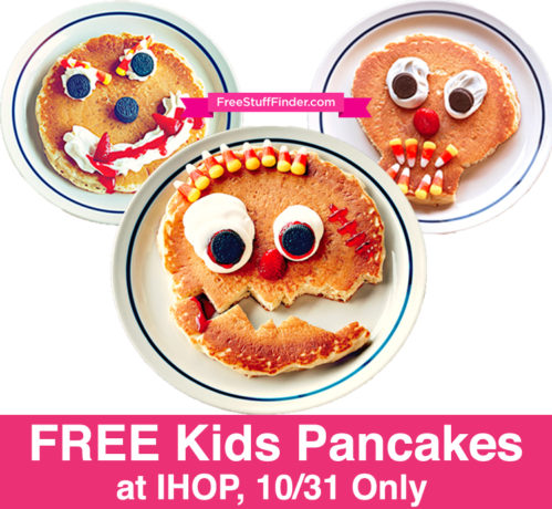 FREE Kids Pancakes at IHOP (Today Only)