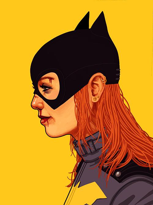 3d Superwoman Wallpaper 13 Great Batgirl Of Burnside Illustrations 13th