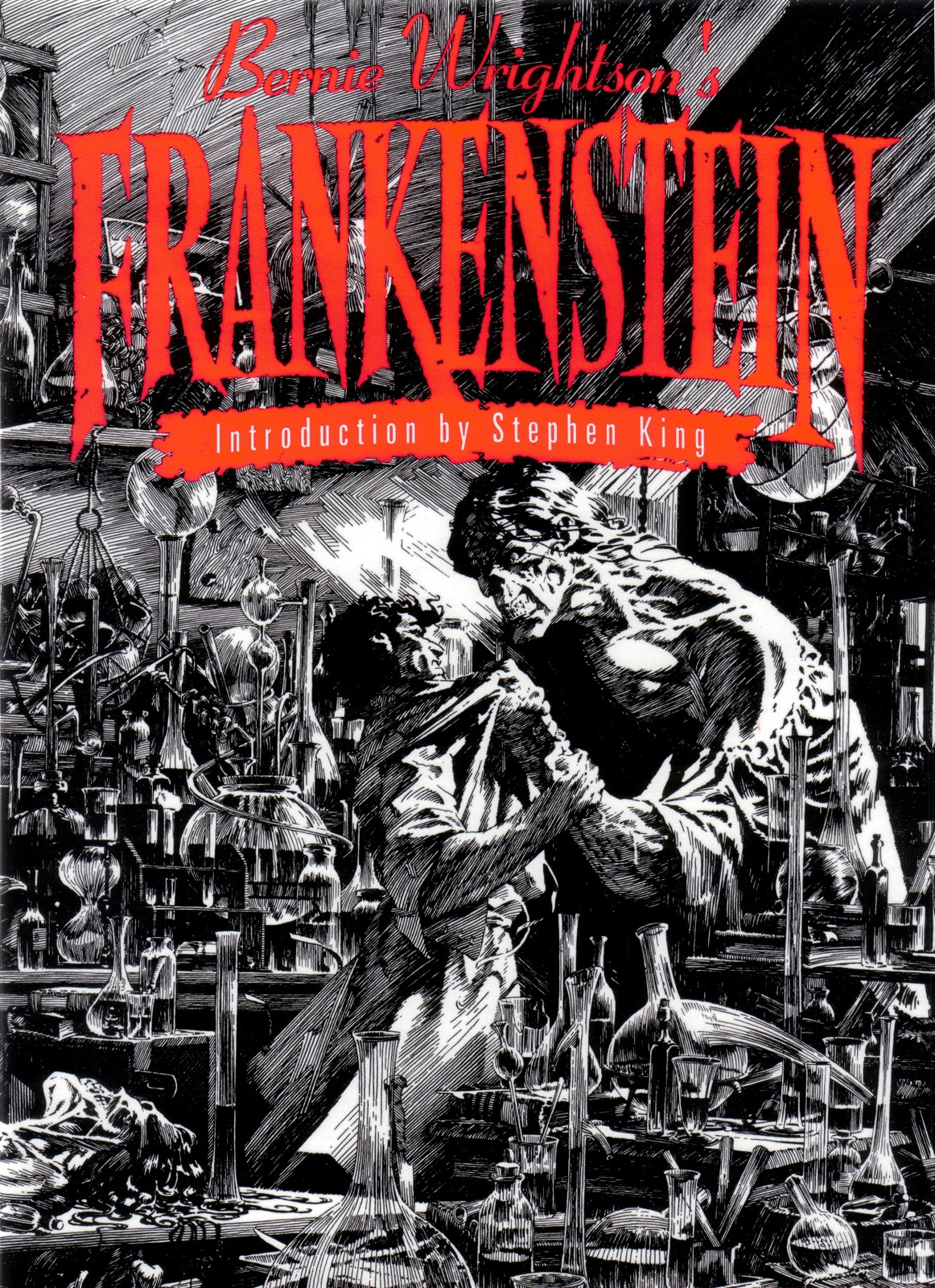 Frankenstein Libro Happy Birthday Bernie Wrightson 13th Dimension