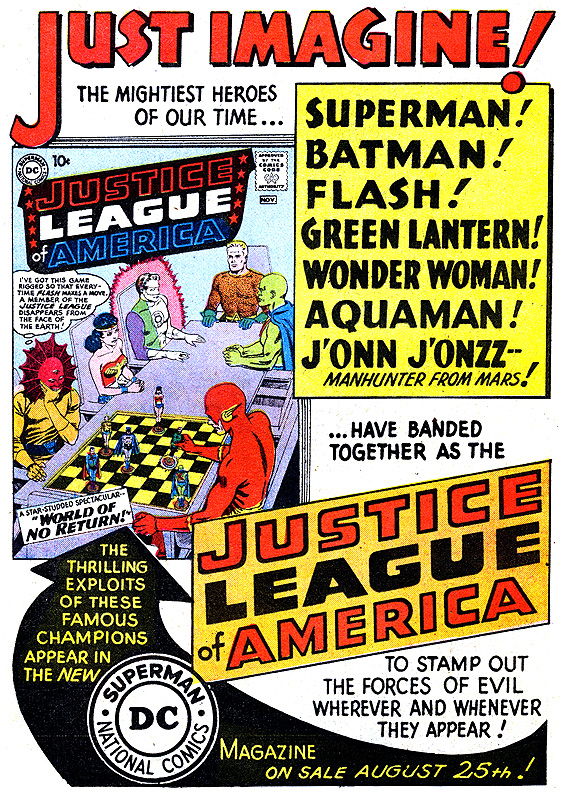 OH, SCHNAPP! Part 3 DC Comics House Ads as Artform 13th Dimension