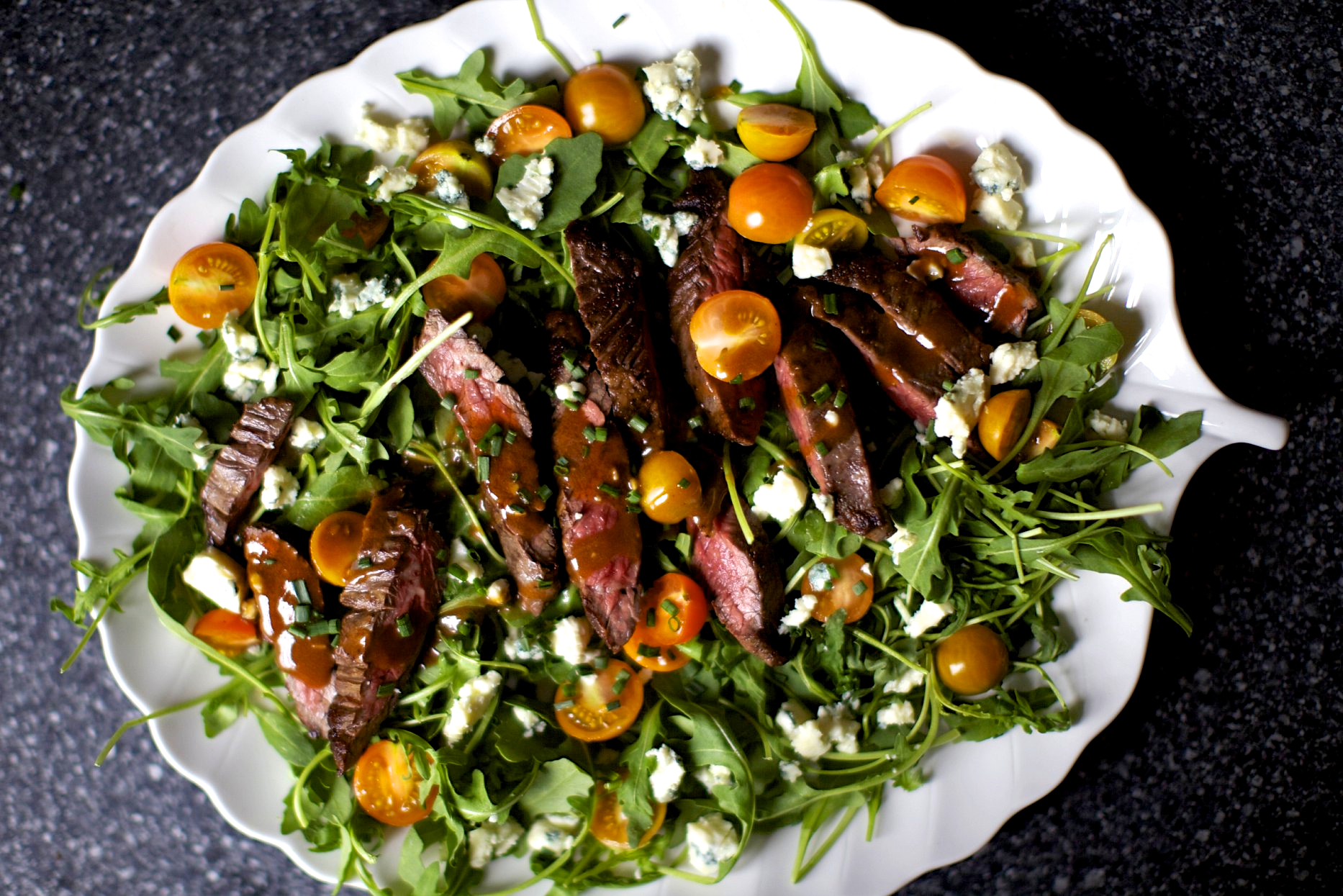 Skirt Steak Salad With Blue Cheese Smitten Kitchen