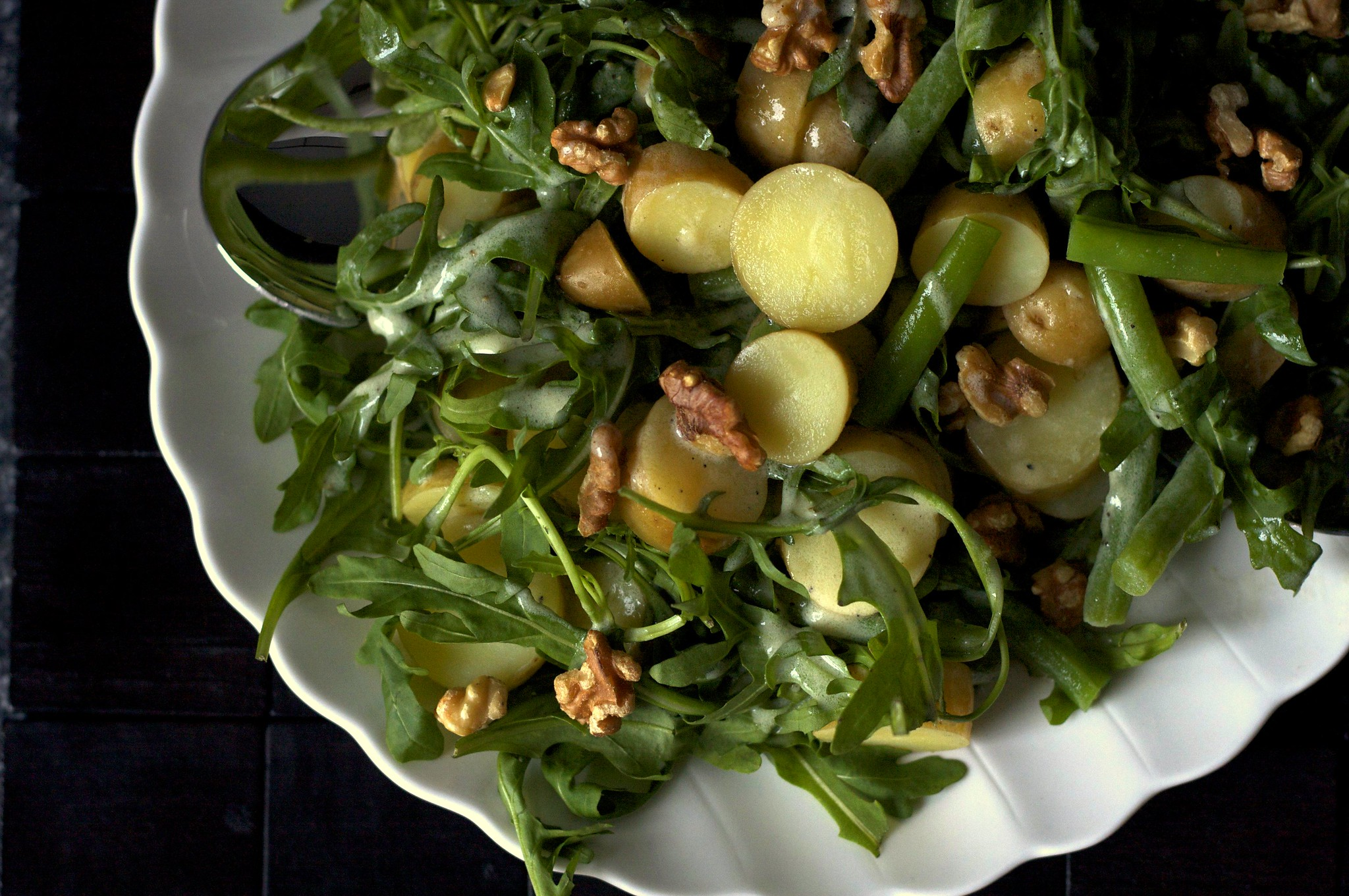 Arugula Potato And Green Bean Salad Smitten Kitchen
