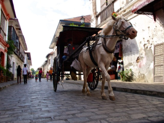 Kalesa in Vigan City