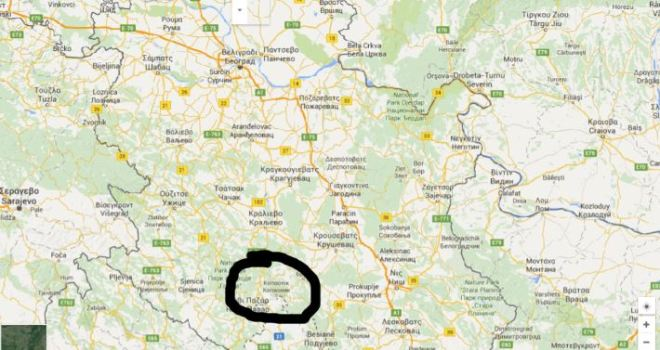 kopaonik_map