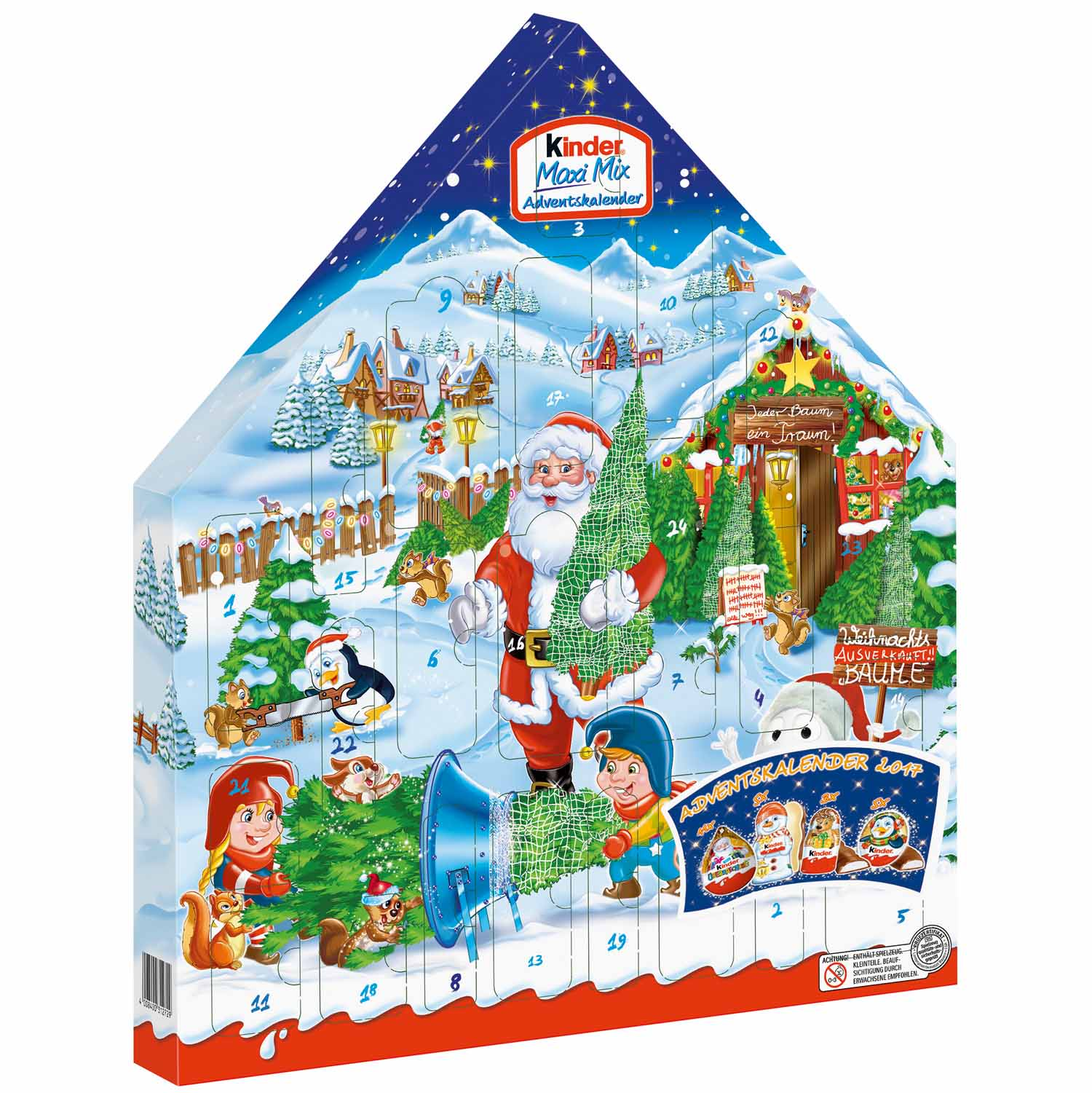 Adventskalender Bild Details About Kinder Maxi Mix 2018 Christmas Advent Calendar German Adventskalender