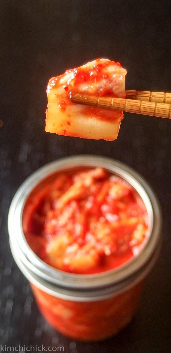 Kimchi perfection!
