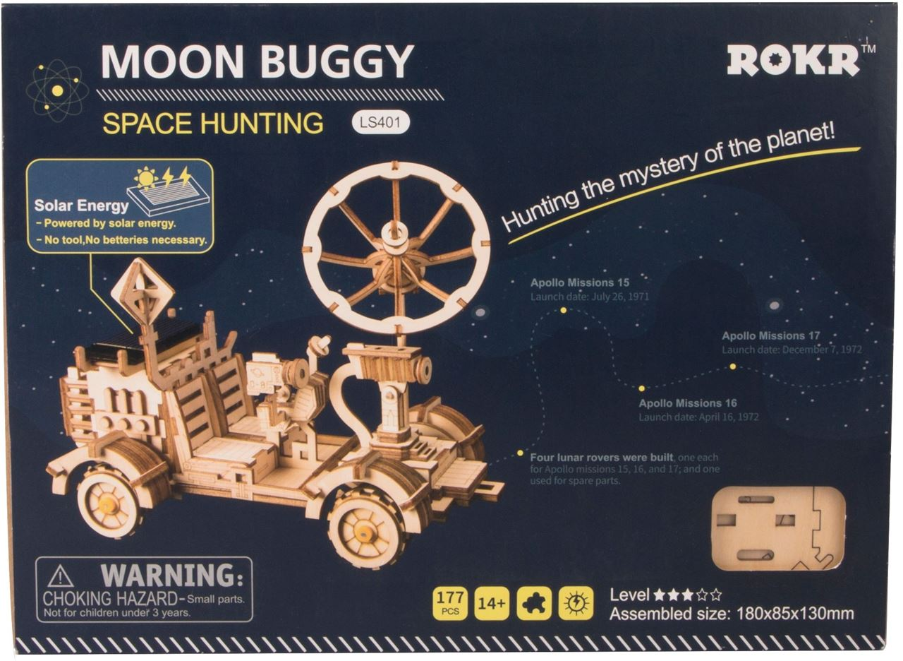 Moon Buggy Diy Channel Distribution Gifts En Gadgets Robotime Moon