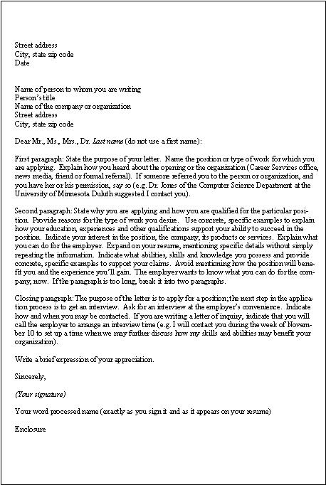 Cover Letter Or Letter of Application - Sports Medicine - application letters