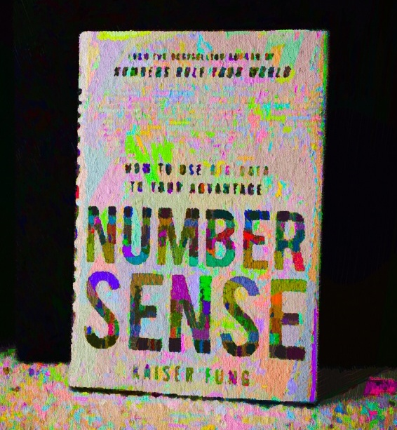 Book I'm reading: Numbersense