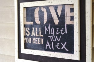 Alexs Bar Mitzvah
