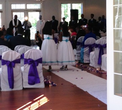 Congratulations to Mr. and Mrs Williams!