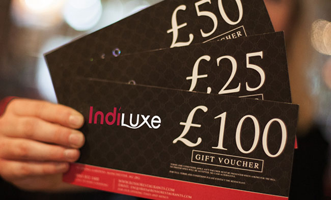 Gift Vouchers Bengal Brasserie Indian and Bangaldeshi Restaurant - how to make vouchers