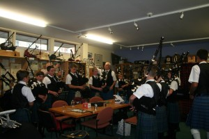 Visiting the College of Piping 2014