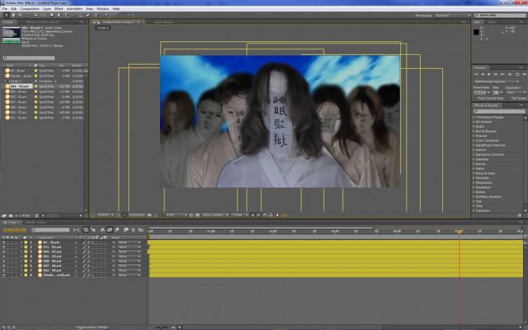 Adobe After Effects CS5 Layers (keyboard shortcuts) keyboard