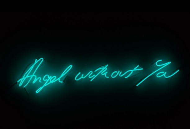 Wallpaper Engine Blue On The Beach Girl Tracey Emin
