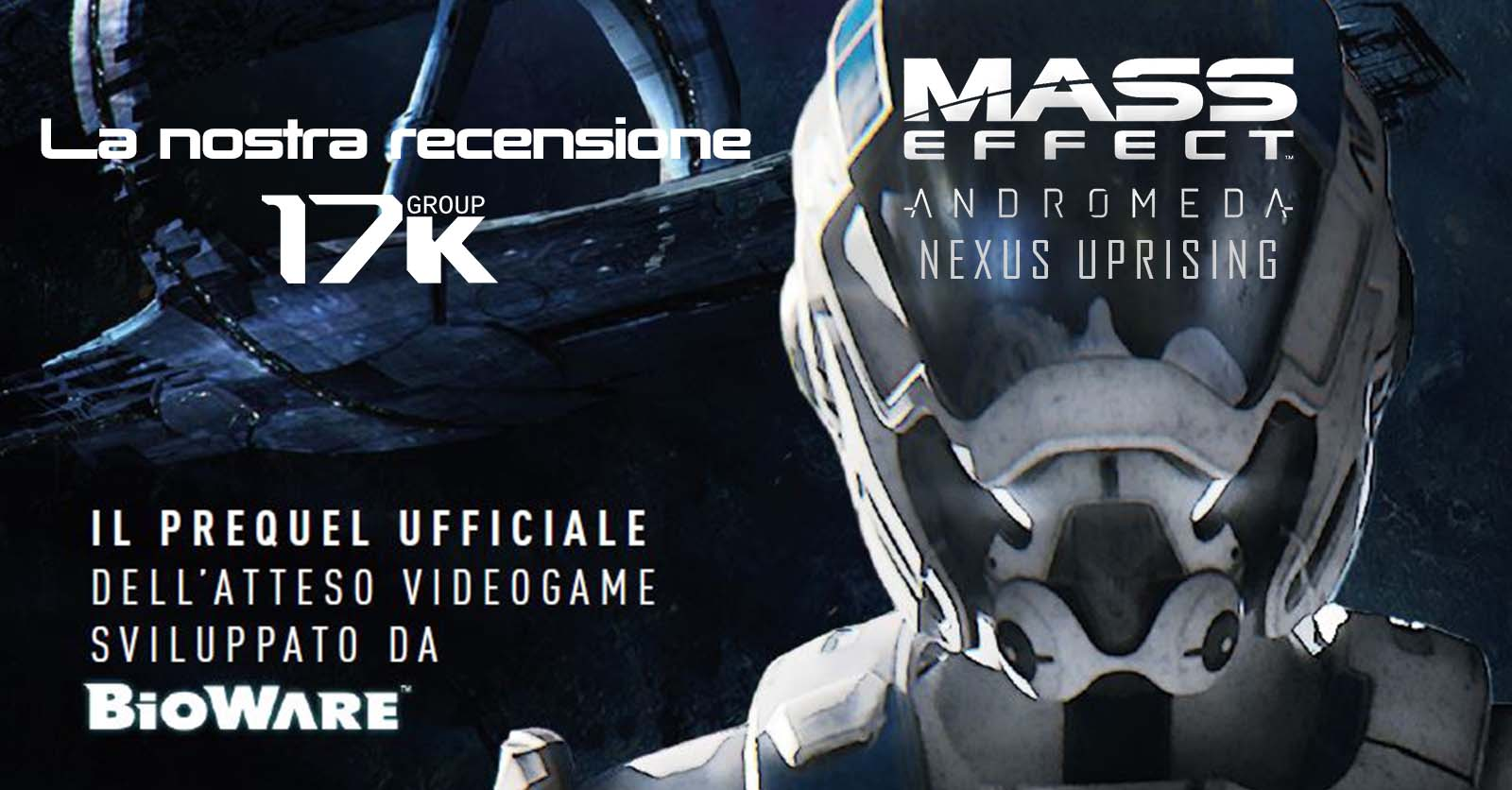 Mass Effect Libros Mass Effect Andromeda Nexus Uprising Recensione 17k Group