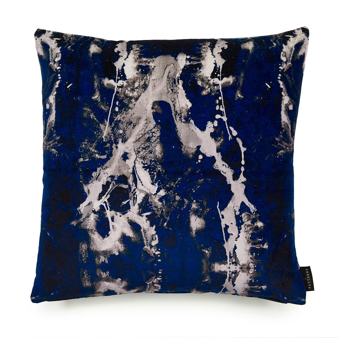 Blue Velvet Cushion Blotto Navy Cotton Velvet Cushion By 17 Patterns