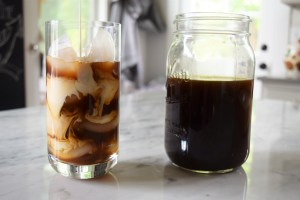 Cold brewed Iced Coffee with cream swirls http://17thstreetkitchen.com/wp-content/uploads/2016/06/DSC_0068-3.jpg