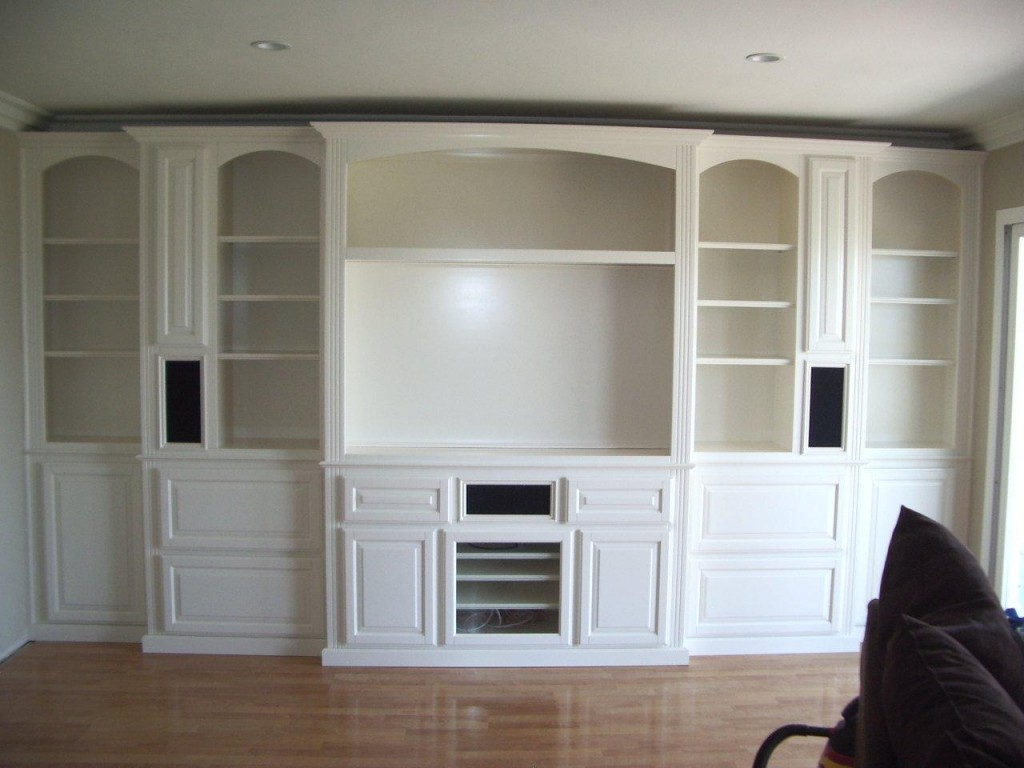 White Entertainment Wall Unit Get Your Own Custom Wall Unit Built In Cabinets By