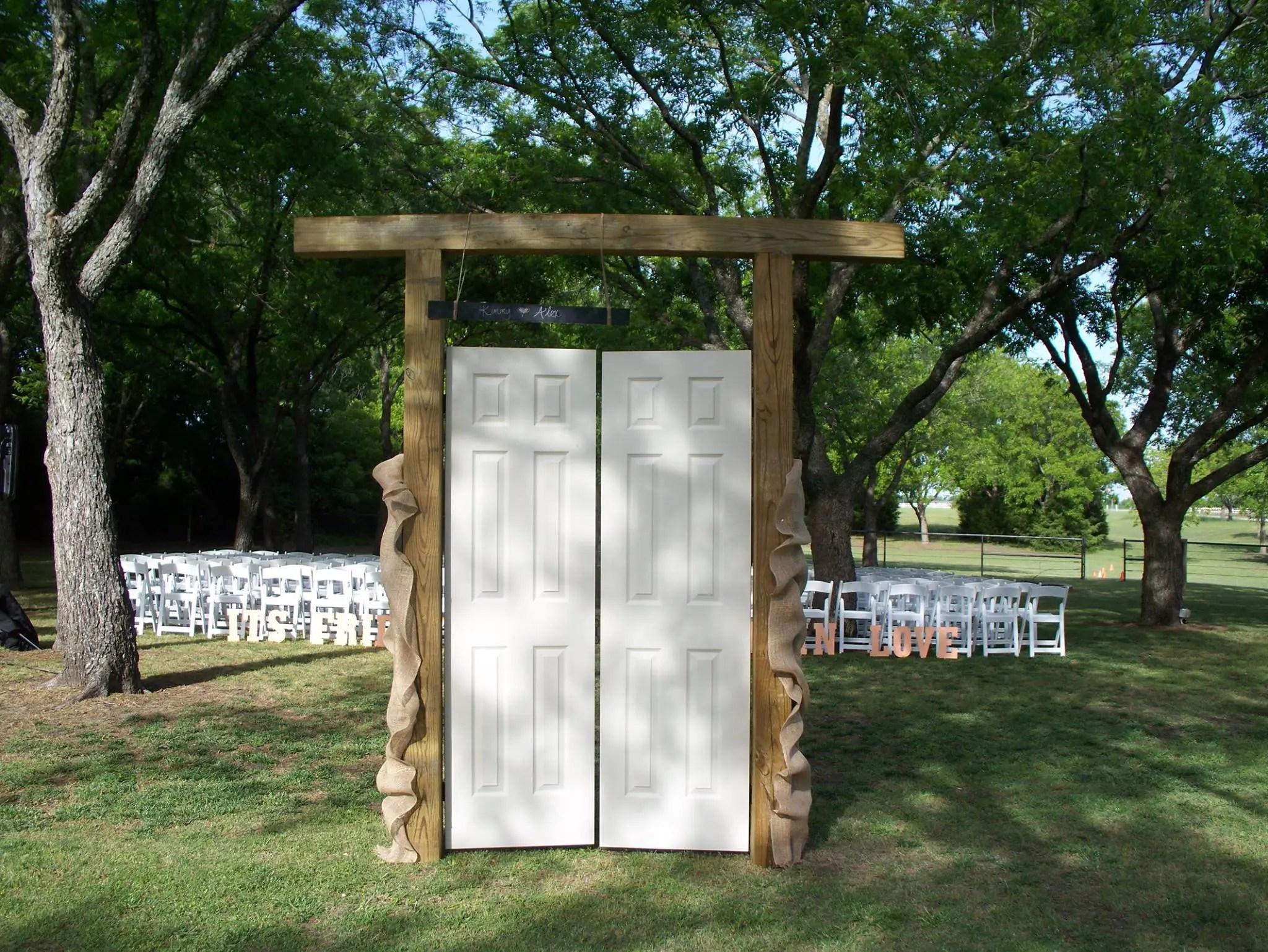 Outdoor Wedding Dcor Ideas Part 2  1899 Wedding & Event