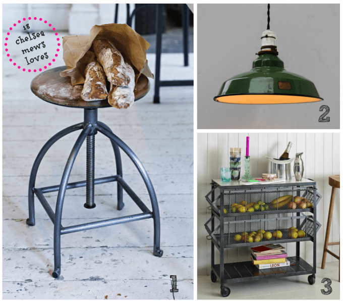 London Living: Get The Look - Industrial Kitchen Decor
