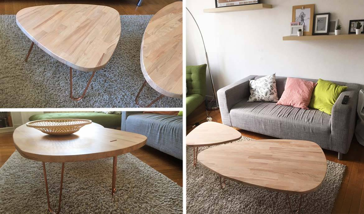 Diy Meuble Scandinave Tuto Tables Basses Gigognes Et Scandinaves Tables Basses Pas