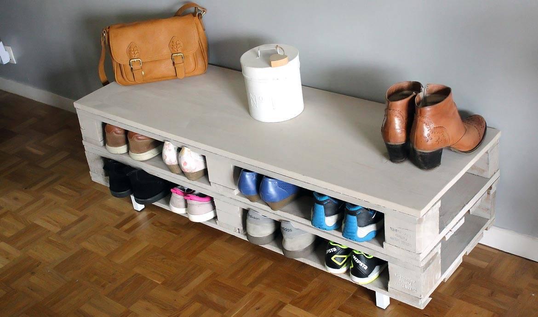 range chaussures en palette range chaussure palette fresh meuble a chaussure en palette unique. Black Bedroom Furniture Sets. Home Design Ideas