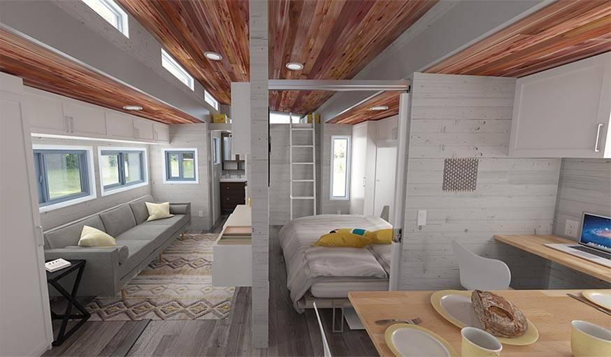 Salon De Jardin Modulable Tiny House Modulable - Une Tiny House En Bois Qui S