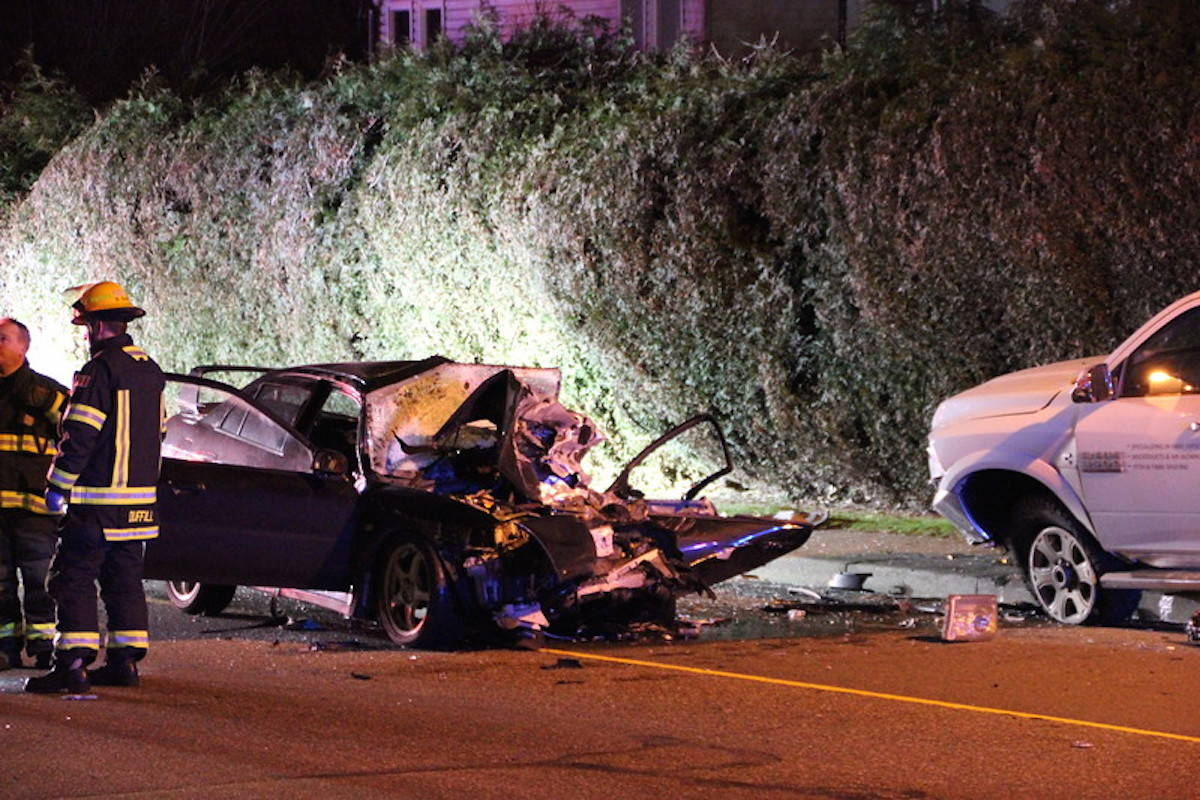Injured In Accident Updated Two Seriously Injured In Langley Motor Vehicle Crash