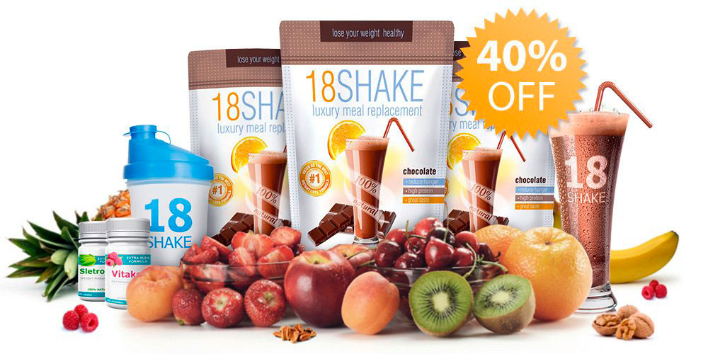 18 Shake - Official Site - Luxury Meal Replacement