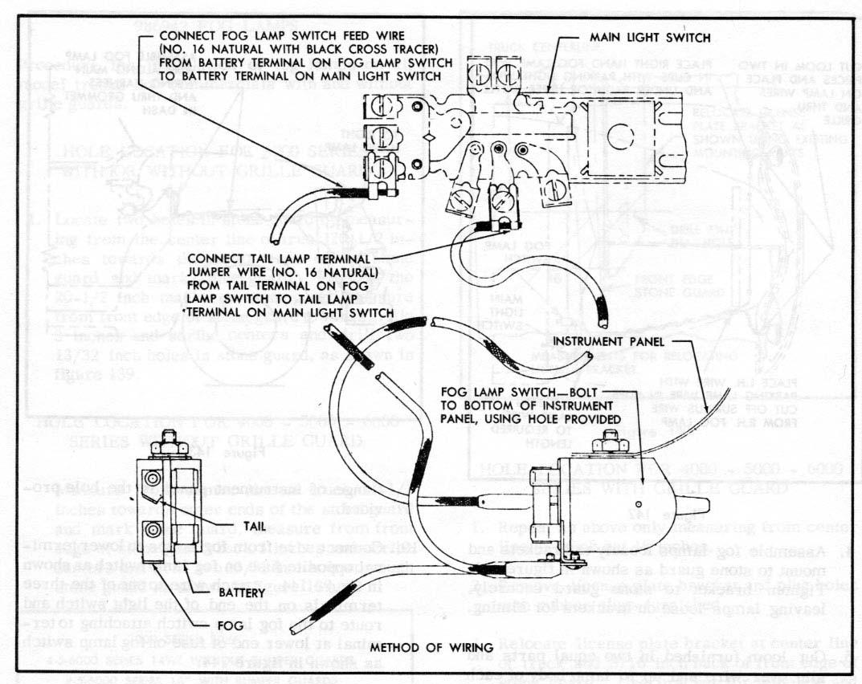 rear fog lamp wiring diagram